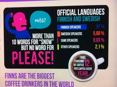 Finnish language: all snow and no please