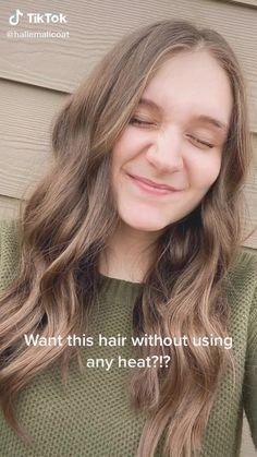 Heatless Hairstyles, Easy Hairstyles For Long Hair, Curled Hairstyles, Diy Hairstyles, Pretty Hairstyles, Men's Hairstyle, Headband Hairstyles, Hair Up Styles, Medium Hair Styles