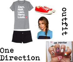 """One Direction outfit"" by kmgirlkk on Polyvore"