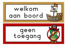 themahoek piraten School, Pirates