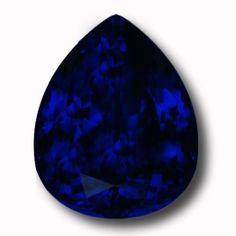 """We haven't seen a Tanzanite like this in almost 10 years! This type of """"Kashmir Cornflower blue"""" is extremely rare in the market these days but in a Tanzanite of this size & grandeur it is nothing short of spectacular. In white light it glows an almost velvety blue but in incandescent light it explodes with red flashes. The stone's proportions are excellent & it is completely flawless. Stones like this don't come along very often. The quintessential Investors Tanzanite. 28.62 carats."""