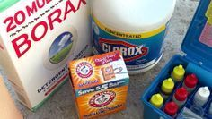 Pool Tips, Troubleshooting & Reviews: The BBB Method Explained - Using Bleach, Baking Soda and Borax to Maintain your Swimming Pool Pool Cleaning Tips, Cleaning Hacks, Borax Cleaning, Piscina Diy, Swimming Pool Maintenance, Cheap Pool, Stock Tank Pool, Pool Care, Pool Hacks