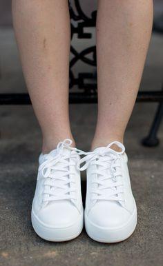 Steve Madden Bertie Sneaker - White