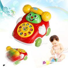 Baby Toys Music Cartoon Phone Educational Developmental Kids Toy Gift New (Randomly Send ) Vocal Toys For Baby