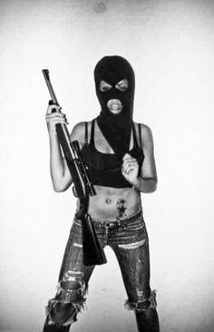 girl behind ski mask - Google Search
