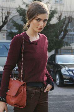 street style during milan fashion week f/w 2012