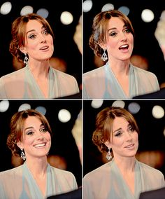 """Catherine, Duchess of Cambridge attends The Cinema and Television Benevolent Fund's Royal Film Performance 2015 of the 24th James Bond Adventure, """"Spectre"""" at Royal Albert Hall on October 26, 2015 in London."""