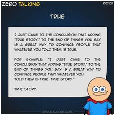 True #ZeroTalking
