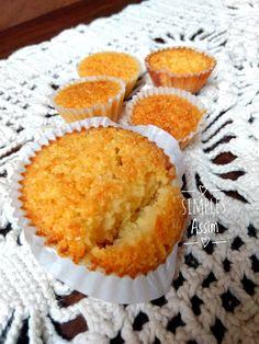 Queijadinha é um doce feito com coco e leite condensado muito gostoso.