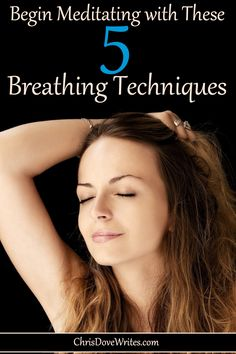 One of my favorite techniques involves changing the way we perceive breathing. Think of the exhale as being the first half of the process, and the inhale as a response. Try to slow down, extending your exhale, but just let the inhale happen naturally. Meditation For Stress, Mindfulness Meditation, Guided Meditation, Deep Meditation, Breathing Techniques, Meditation Techniques, Gym Workout For Beginners, Inhale Exhale, Take Care Of Your Body