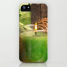 Relaxing Spa iPhone & iPod Case by Edward M. Fielding - $35.00