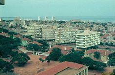 Luanda em 1973.