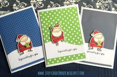 Jingle all the Way: MFT, critter sketch, Judy's card corner