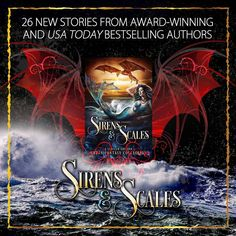 The Sirens and Scales anthology is available for pre-order now at only $0.99!  Amazon: http://amzn.to/2gflg3D iBooks: http://apple.co/2xmnNPv Barnes & Noble: http://bit.ly/2yu3bKb Kobo: http://bit.ly/2fNjeHA  #preordersale #99cents #mermaids #dragons #urbanfantasy #paranormalromance #sirensandscales