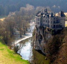 Walzin Castle, Namur, Belgium                                                                                                                                                                                 More
