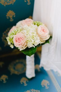 Rose and hydrangea bouquet by Blumen Kral - perfect for LP