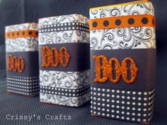 DIY-Fall Decor From Juice Boxes ! How Clever !