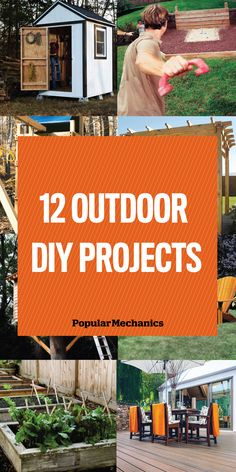 Warmer weather is here, so there's no time to waste. Get started on these spring DIY projects and enjoy them all summer long.