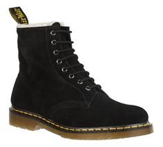 Dr. Martens Serena Wool Lined 8 Eye Boot Mare Hi Suede for Women