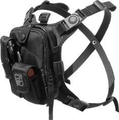 Hazard 4® California Covert Escape RG™ Flashlight/Tools/Camera/GPS/Cycling Chest Pack - Military, Pro Photography, Hardcore Travel | Pouch/Fanny Pack, Travel Bag