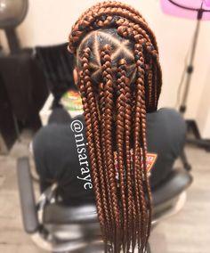 53 Box Braids Hairstyles That Rock - Hairstyles Trends Box Braids Hairstyles, Hairstyles For Long Hair Easy, Famous Hairstyles, Black Hairstyles With Weave, African Hairstyles, Prom Hairstyles, Hairstyles Pictures, Trendy Hairstyles, Evening Hairstyles