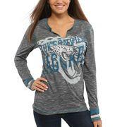 cool Ladies's Jacksonville Jaguars Majestic Black Gametime Gal V-Neck Lengthy Sleeve T-Shirt http://jaguarsapparel.com/