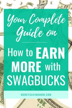 The Complete Guide on How to Use Swagbucks Make Money From Home, How To Make Money, Book Hotel Online, Earn Extra Cash, Money Saving Mom, Living On A Budget, Save Money On Groceries, Print Coupons, Earn Money Online