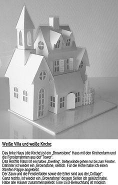 Weiße Villa und weiße Kirche-2