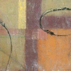 #6: Palimpsest III Art Poster Print by Edwin Douglas, 20x20