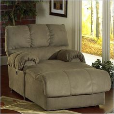 Amazing Catnapper Big Deal Oversized Reclining Chaise   3239