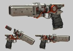 it is weapon of the concept art. The weapon looks very realistic and futuristic. I think design is well designed, it looks like it designed for space wars.