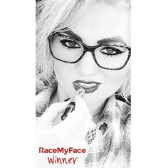 "‪It seems that you all really like ""Shades of grey"" contest - are you curious about the last winner of it? Here she is, congrats to her! :) Get the app now!  Appstore: www.asmileppstore.com/RaceMyFace  Play Store: goo.gl/R1mwSM  #RaceMyFace #RaceMyFaceWinner #selfiecontest #winwithyourselfie #selfie #selfies #prizes #selfietime #selfienation #winner #grey #shadesofgrey #glasses #nice #lipstick Selfie Time, Shades Of Grey, Selfies, Round Glass, Lipstick, App, Play, Glasses, Nice"