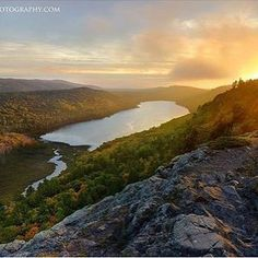 An autumn sun sets over Lake of the Clouds in Porcupine Mountains Wilderness State Park. Thanks for sharing this shot, @neilweaverphoto. Where is your favorite Upper Peninsula destination? #PureMichigan #LakeOfTheClouds #UpperPeninsula