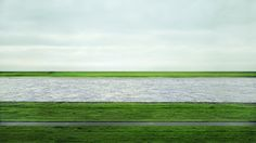 Andreas Gursky, Rhein II, 1999