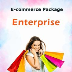 E-commerce Enterprise Package Promote Your Business, Ecommerce, Seo, Management, Packaging, Marketing, Wrapping, E Commerce