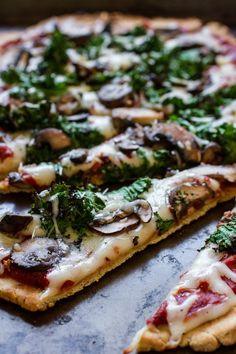 Gluten-Free Pizza #vegan #glutenfree