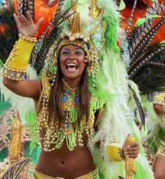 The tradition was brought to Brazil by the Portuguese in 1850, and initially it was just a masquerade ball for aristocrats. Before the Brazilian government declared Carnaval a cultural holiday, the uninvited population would riot in the streets. It's the biggest party in the world.