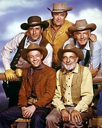 Wagon Train,  I loved this show.  We used to pull our wagons around the driveway and pretend we were heading West.