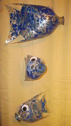 Plastic Coke Bottle Fish I make.