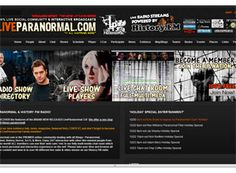 A paranormal website is huge and full of content. There is a lot going on here and plenty of space for SEO content, pictures, and graphics.