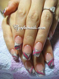 Nail Ideas Cynful Nails: Gelish