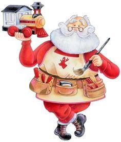 'Santa Paints' - Ronnie Rooney