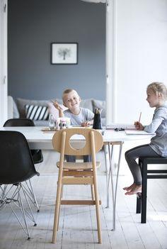 Hukit children's chair designed by Kaj Høffer Larsen in 1962. #allgoodthings #danish spotted by @missdesignsays