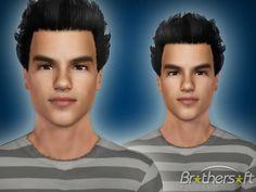 Jacob Black as a sim Jacob Black, Sims Cc, Twilight, Beauty, Collection, Beauty Illustration