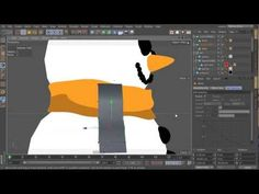 Tutorial: Create a Stylized Snowman and Xpresso Driven Trees in Cinema 4D - Part 2 - YouTube