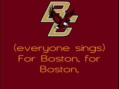 Boston College Eagles - fight song with words - For Boston