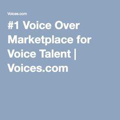 #1 Voice Over Marketplace for Voice Talent   Voices.com