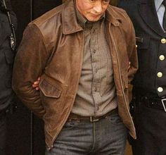 Grudge Match Henry Razor Sharp Sylvester Stallone Leather Jacket  Jacket Specification   Outfit type: Genuine Gender: Male Color: Brown Distressed Front: Front Zip Closure Collar: Shirt Style Collar Pockets: Two pockets