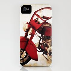 Old Motorcycle iPhone Case by AD DESIGN Photo + PhotoArt - $35.00
