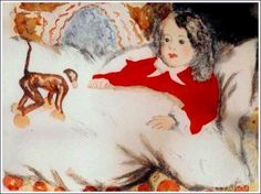 with a toy Doll Toys, Dolls, Painting, Children, Artists, Kunst, Baby Dolls, Young Children, Boys